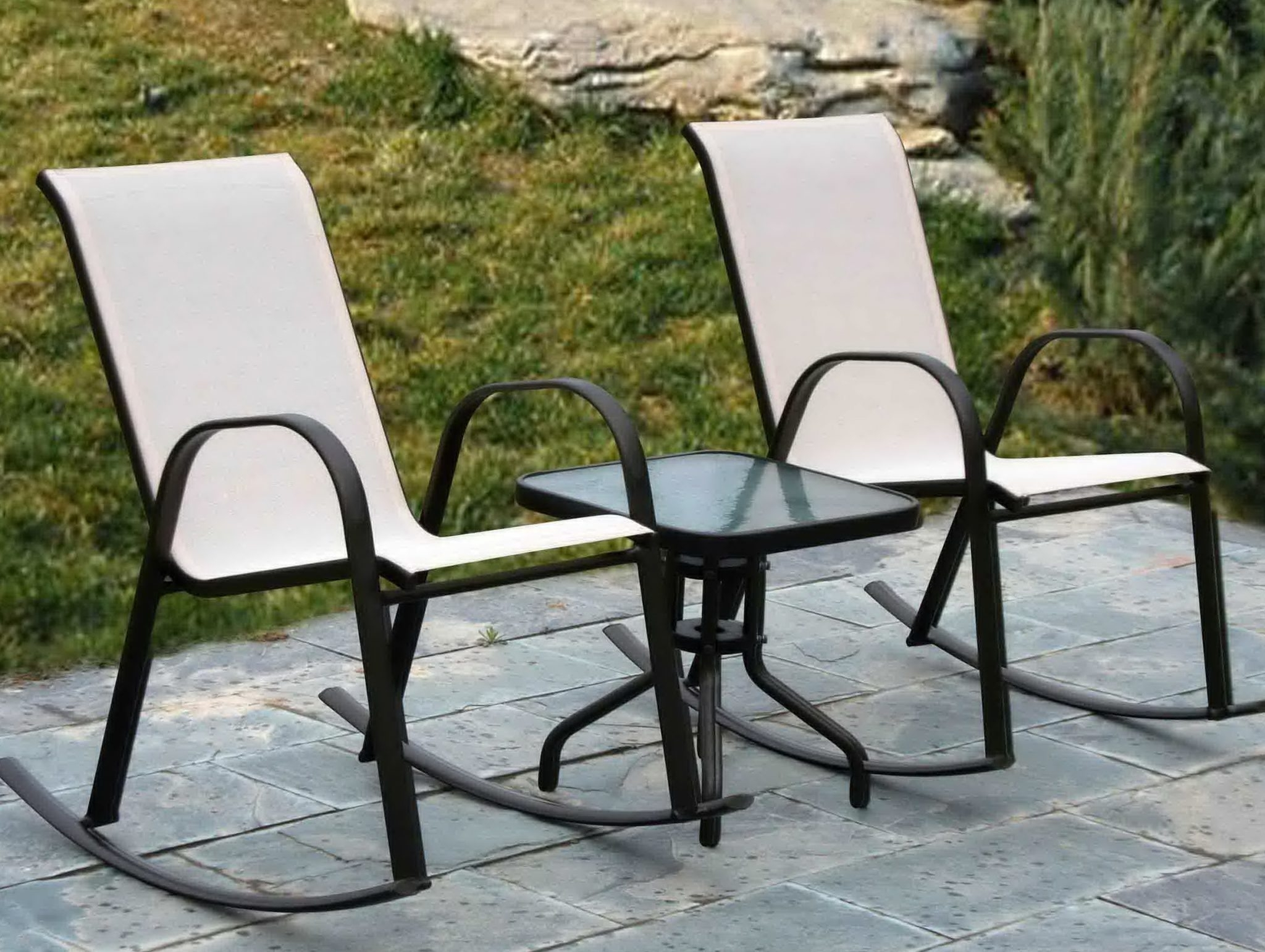 Patio Conversation Sets Without Cushions Within Widely Used Patio Furniture Without Cushions Beautiful Ideas Furniture Idea (View 15 of 20)
