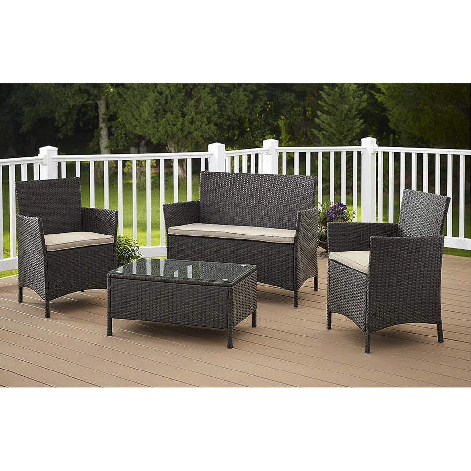 Patio : Cosco Outdoor Furniture Jamaica Piece Resin Wicker Patio For Newest Martha Stewart Conversation Patio Sets (View 17 of 20)