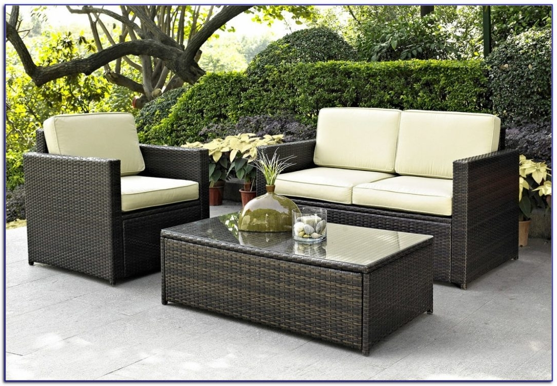 Patio Furniture Clearance Ontario Canada With Plus Cushions Together Intended For Most Recent Wayfair Outdoor Patio Conversation Sets (View 10 of 20)