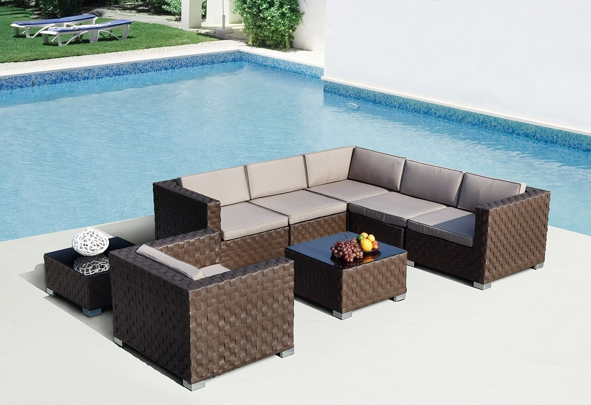 Patio & Garden : Outdoor Sectional Furniture Edmonton Sectional In 2019 Edmonton Patio Conversation Sets (View 11 of 20)