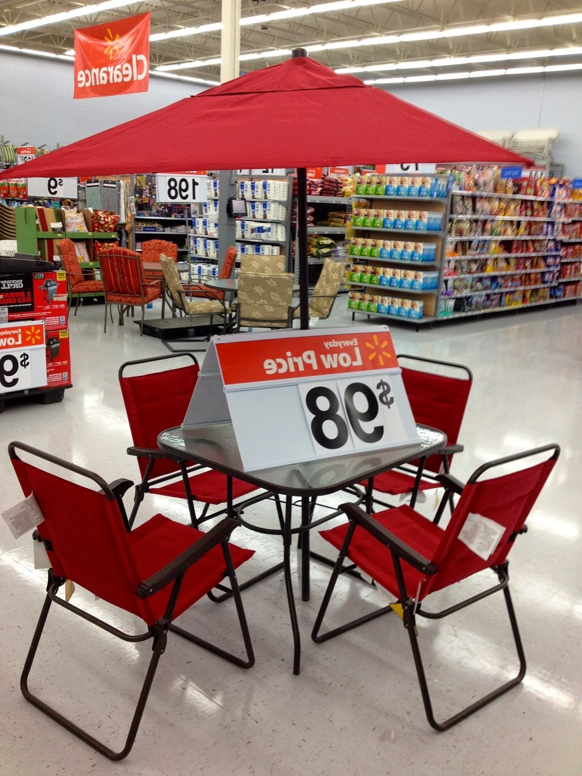 Patio : Patio Sets One Menards Costco Dining Fire Pit Sale Target Pertaining To 2018 Patio Conversation Sets At Walmart (View 17 of 20)