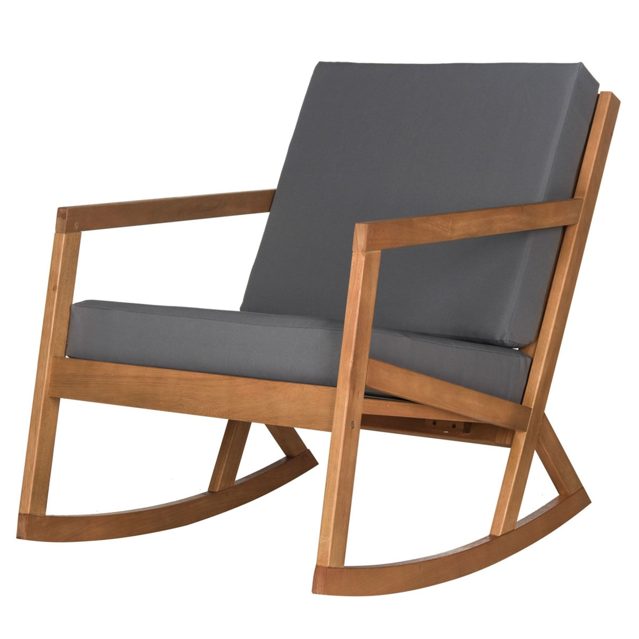 Patio Rocking Chairs With Covers Within Recent Vernon Outdoor Rocking Chair (View 10 of 20)