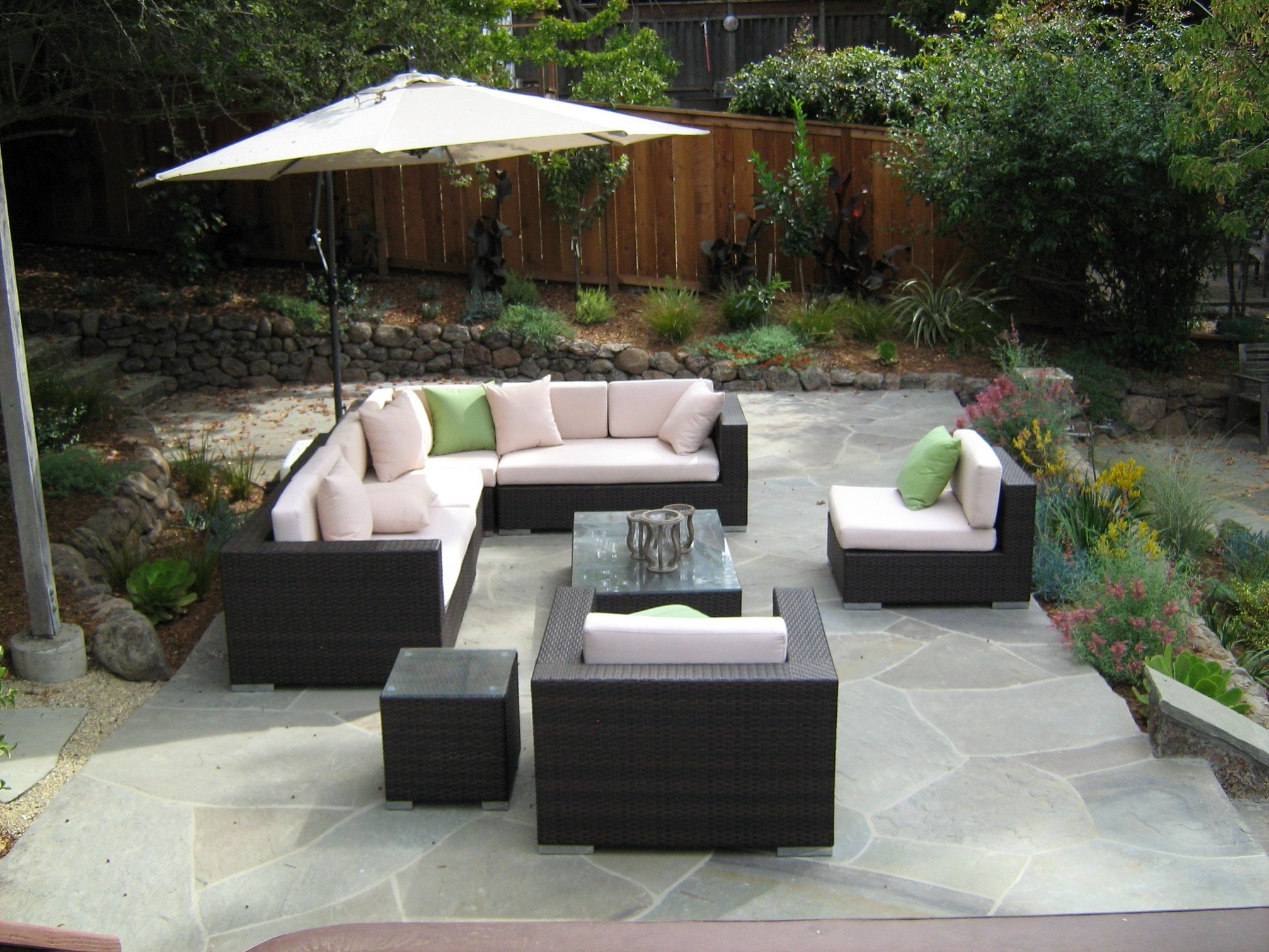 Patio : Small Patio Furniture Awesome Chair Fabulous Aluminum Patio Within Most Recently Released Patio Conversation Sets With Umbrella (View 11 of 20)