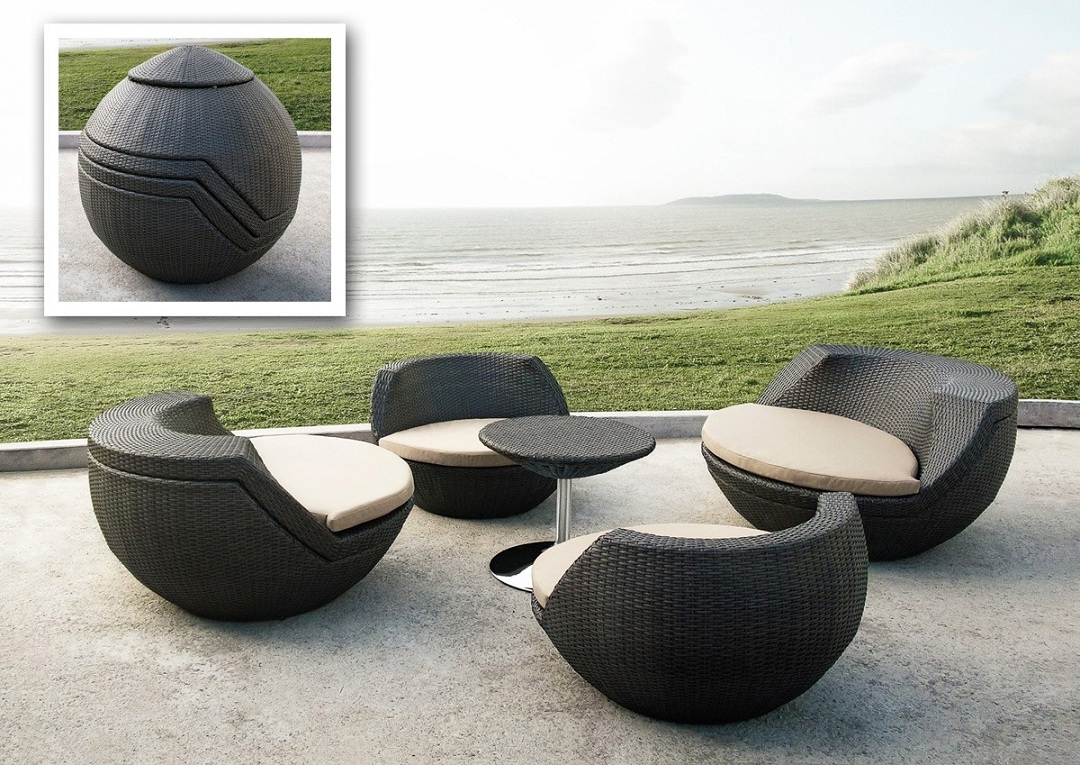 Perfect Garden With Modern Garden Furniture – Carehomedecor With Well Known Modern Patio Conversation Sets (View 11 of 20)