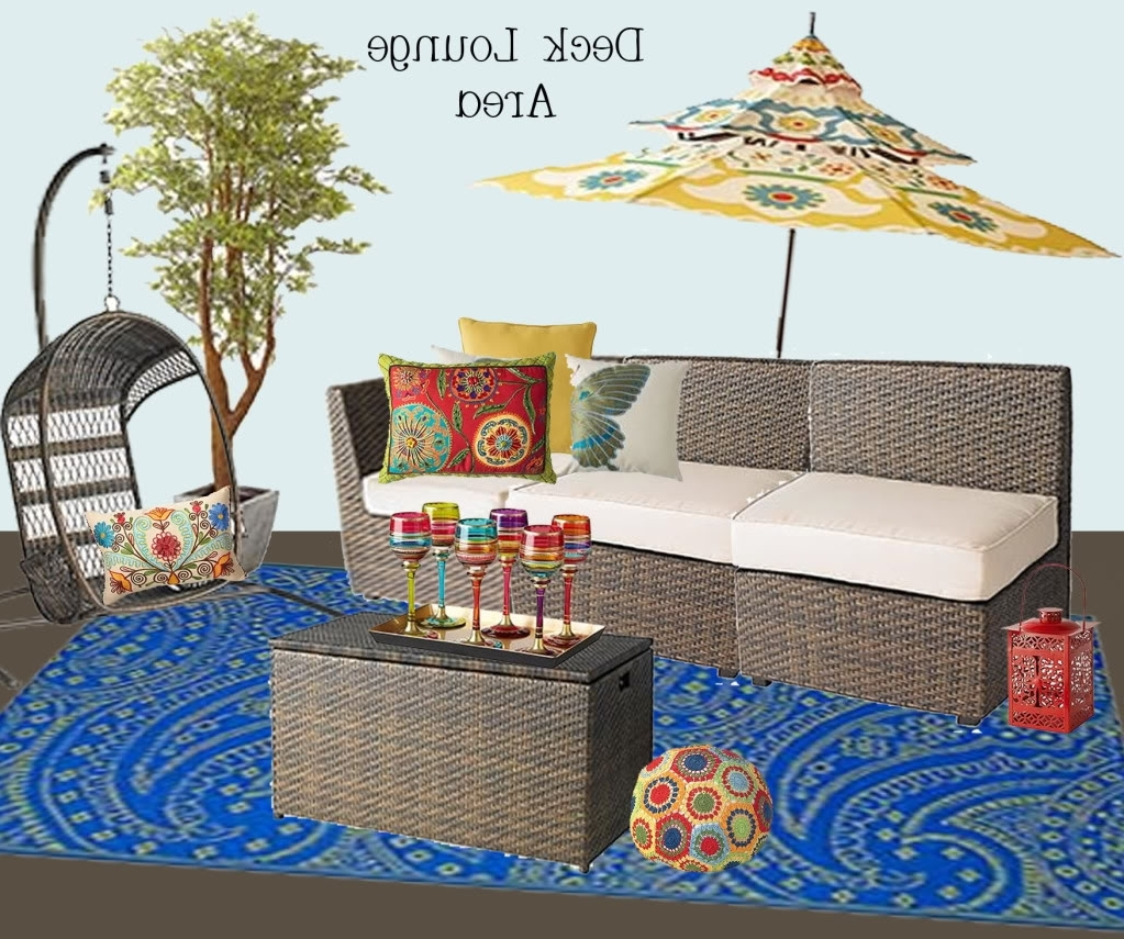 Pier One Patio Conversation Sets Pertaining To Newest Outdoor Dreamin' – Bower Power (View 19 of 20)