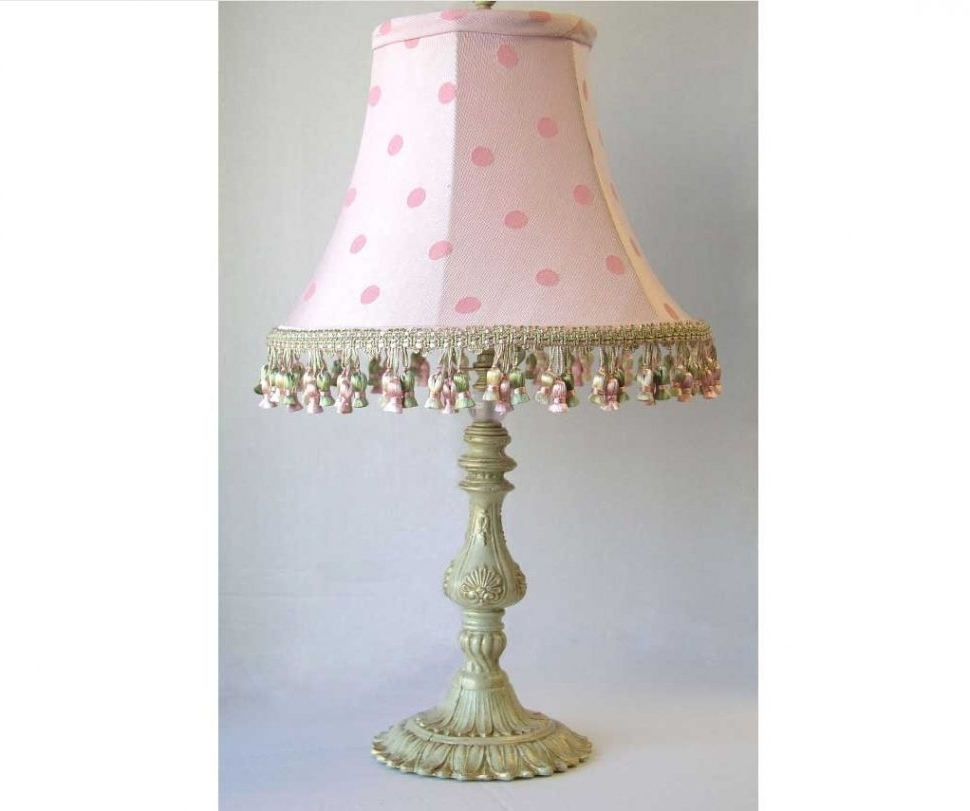Pink Table Lamps For Living Room In Well Known Pale Pink Table Lamp White Shades For Lamps Standard Floor With (View 15 of 20)