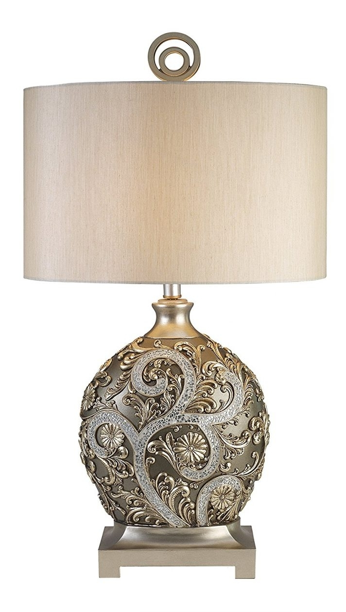 Plain Design Silver Table Lamps Living Room Silver Table Lamps Intended For Well Known Antique Living Room Table Lamps (View 17 of 20)