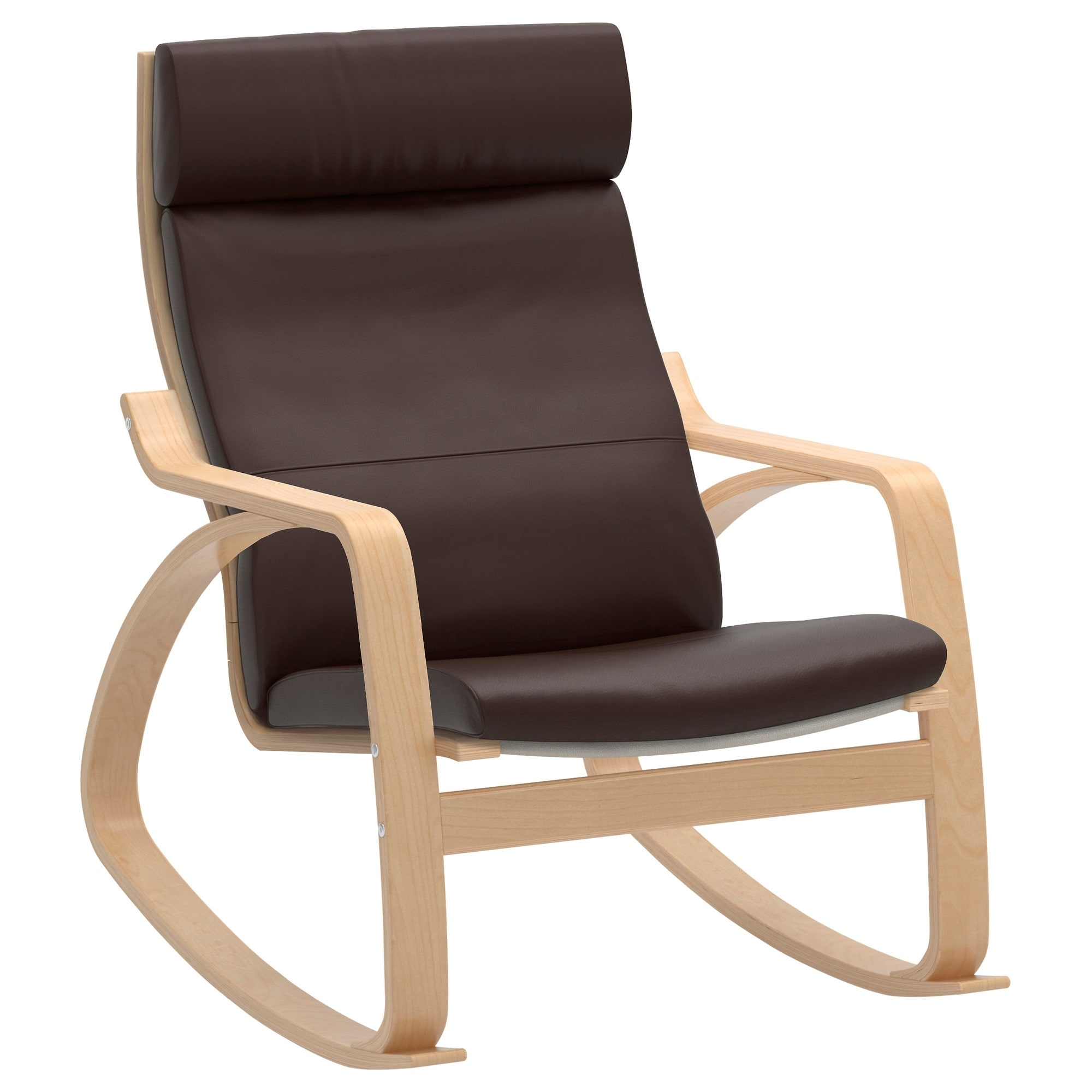 Poäng – Ikea With Well Liked Rocking Chairs With Footstool (View 9 of 20)