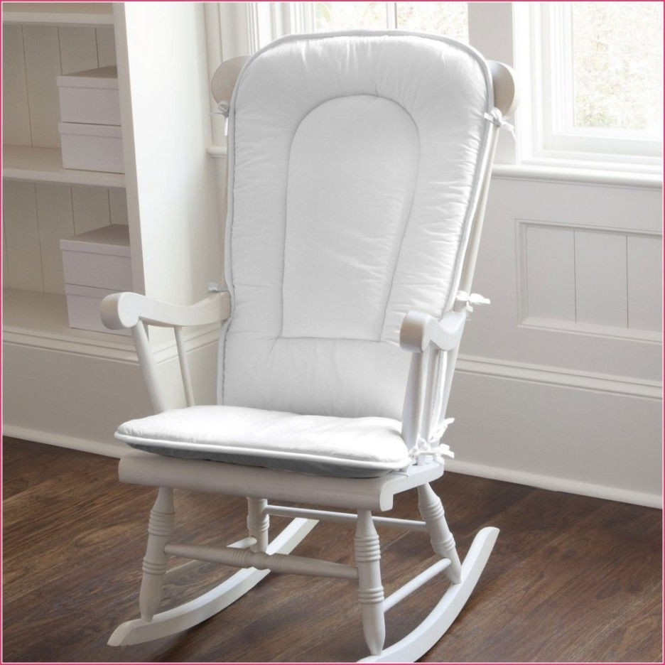 Popular Amazon Rocking Chairs Intended For Cracker Barrel Rocking Chair Seat Cushions Baby Nursery Pads Amazon (View 19 of 20)