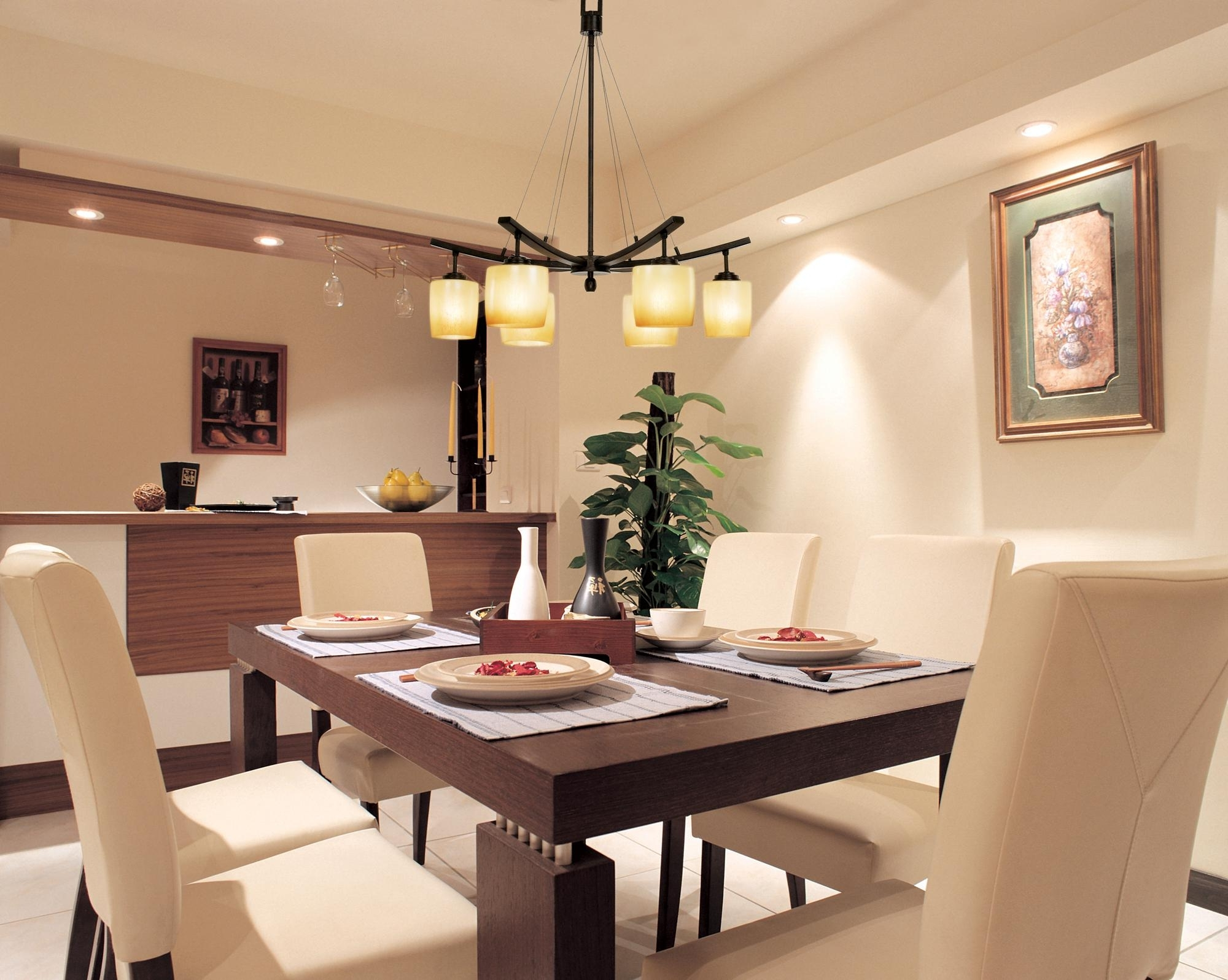 Popular Living Room Table Top Lamps Regarding Room Ceiling Light Fixtures Inside Dining Ideas Table Lighting From (View 11 of 20)