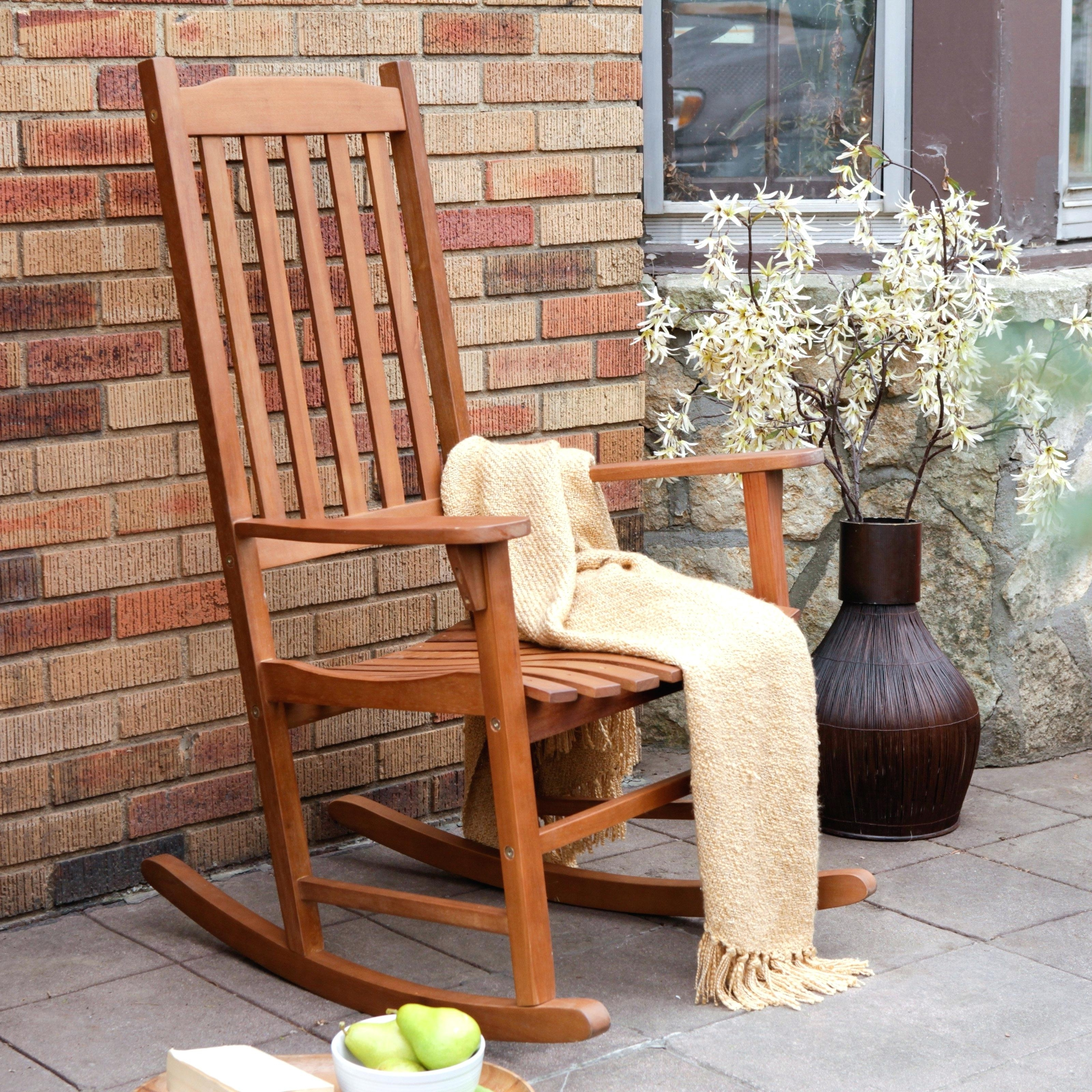 Popular Livingroom : All Weather Patio Rocking Chairs Wicker Swivel Chair With All Weather Patio Rocking Chairs (View 11 of 20)