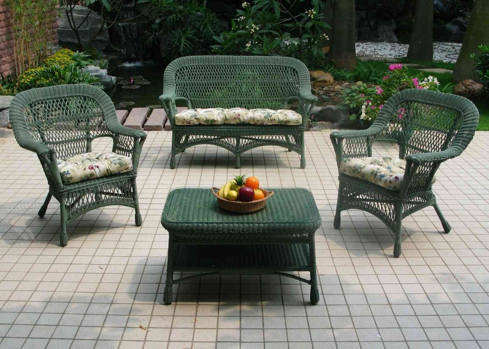 Popular Nfm Patio Conversation Sets For Small Outdoor Wicker Patio Furniture Ideas : Sathoud Decors – Repair (View 18 of 20)