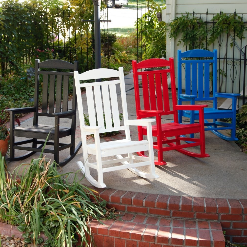 Popular Red Patio Rocking Chairs With Furniture : Red Rocking Chair Patio Chairs That Rock Rocking Chair (View 9 of 20)