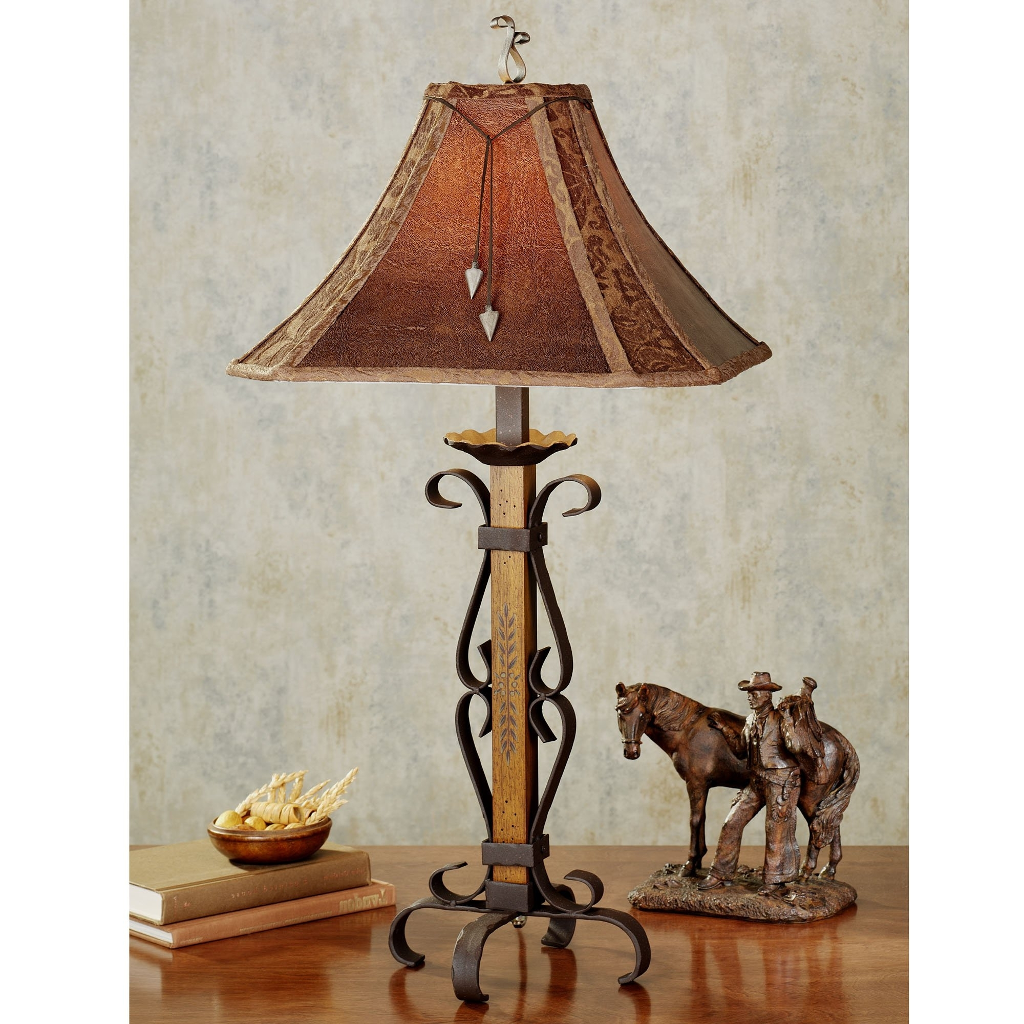 Popular Rustic Living Room Table Lamps Regarding Rustic Living Room Table Lamps Modern House, Rustic Contemporary (Gallery 4 of 20)