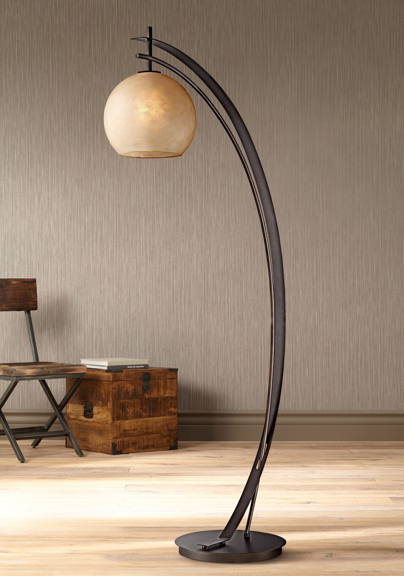 Possini Euro Venus Oil Rubbed Bronze Metal Arc Floor Lamp – #eu1g319 In Well Known Bronze Living Room Table Lamps (View 13 of 20)