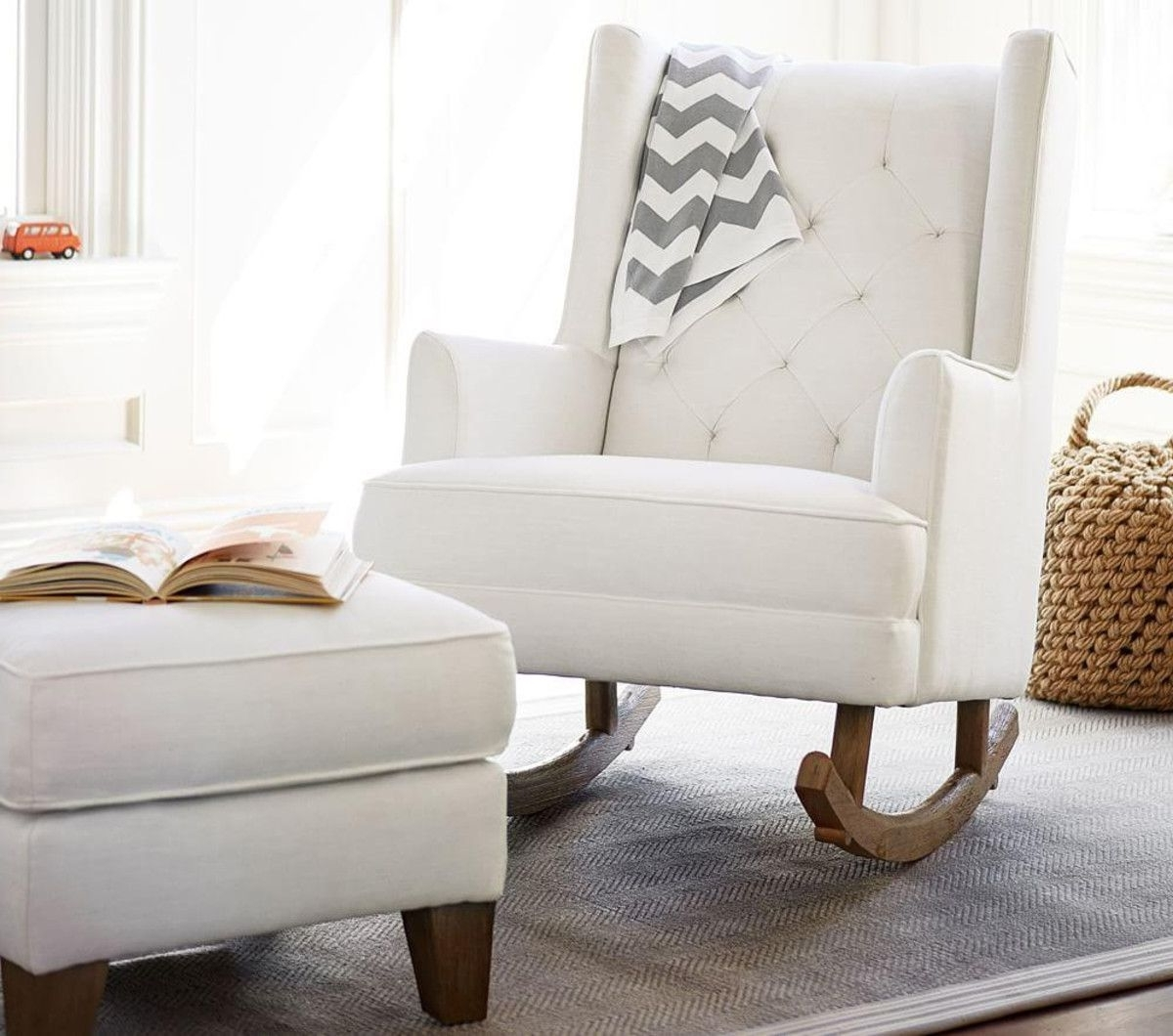 Pottery Barn Inside Most Current Rocking Chairs For Nursery (View 4 of 20)