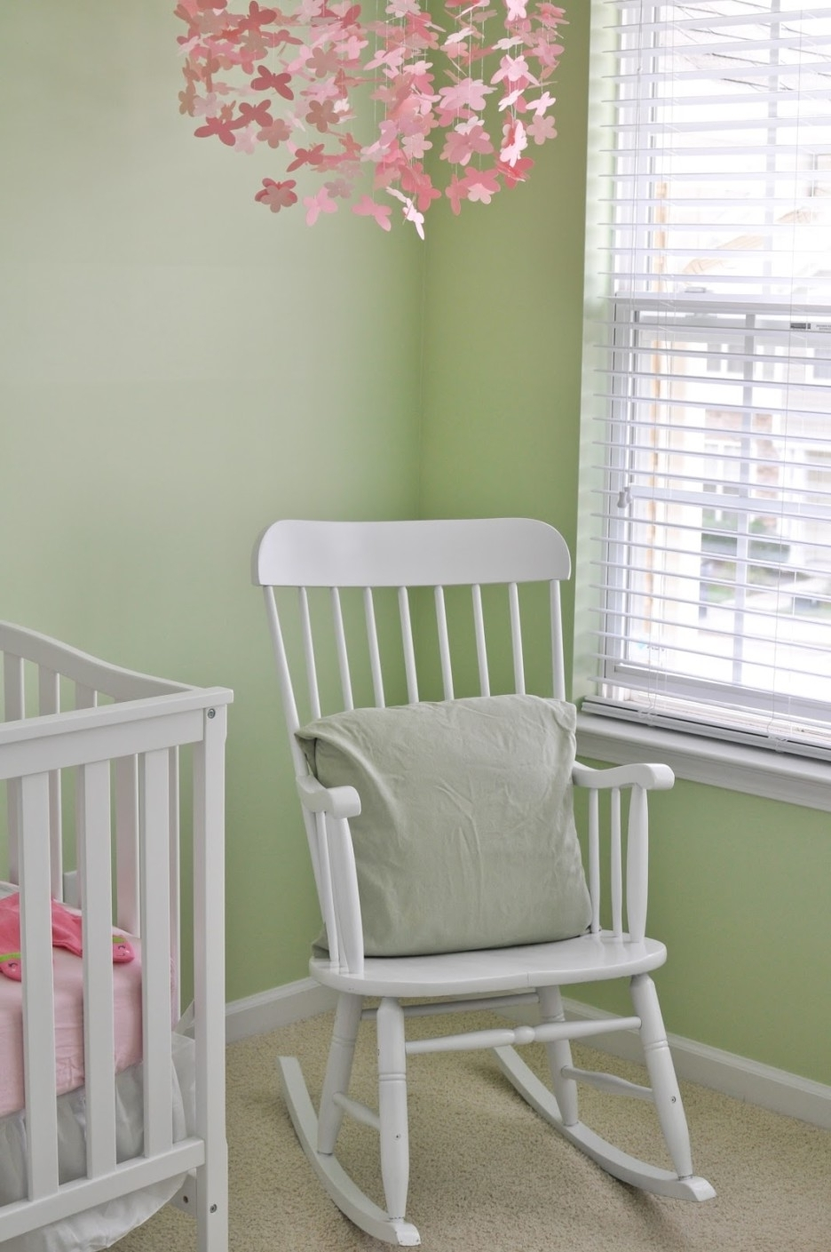 Preferred Baby Nursery Delectable Girl Baby Nursery Room Decoration Using With Rocking Chairs For Baby Room (View 15 of 20)