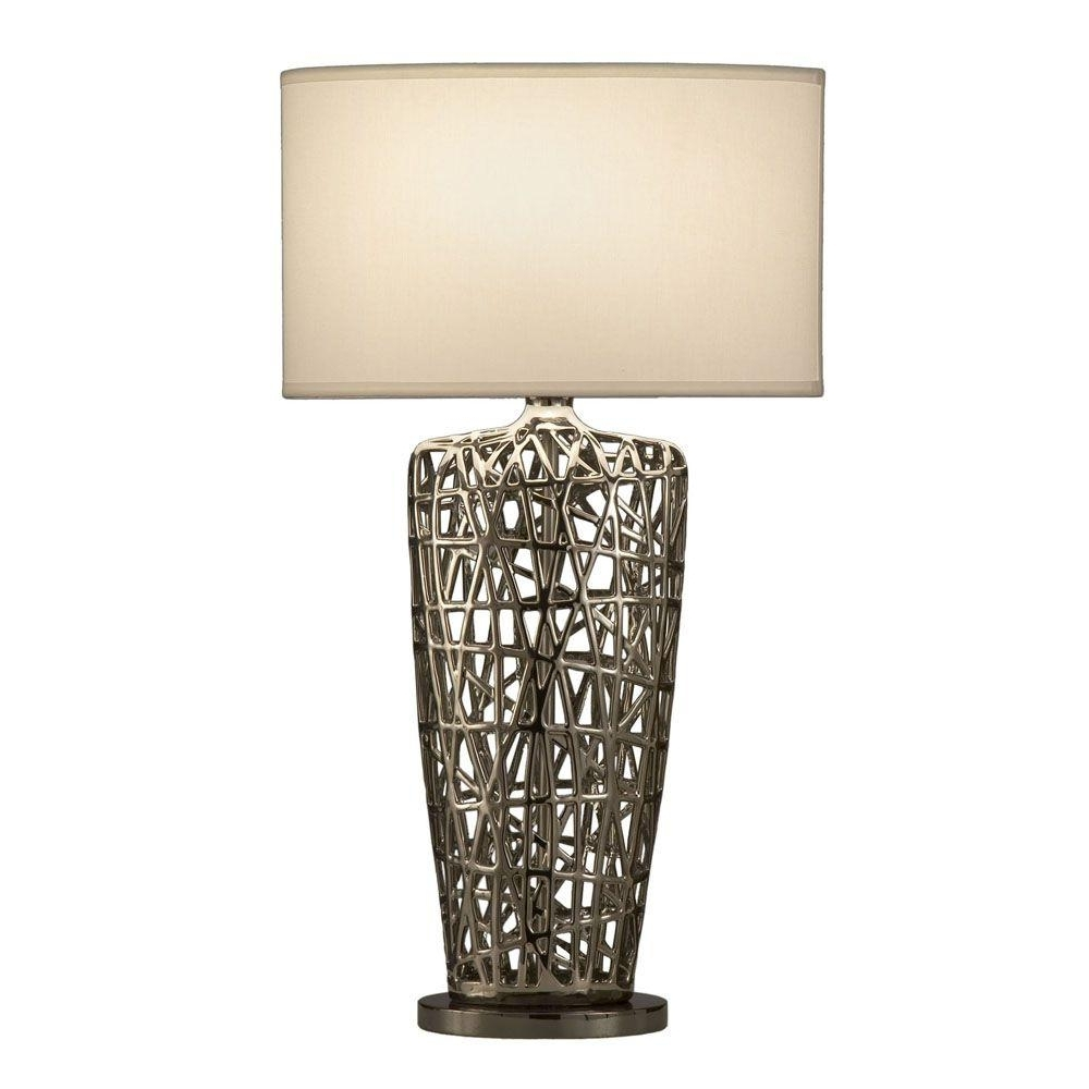 Preferred Blue Living Room Table Lamps Pertaining To Nova Birds Nest Heart Table Lamp 11076 – The Home Depot (View 15 of 20)