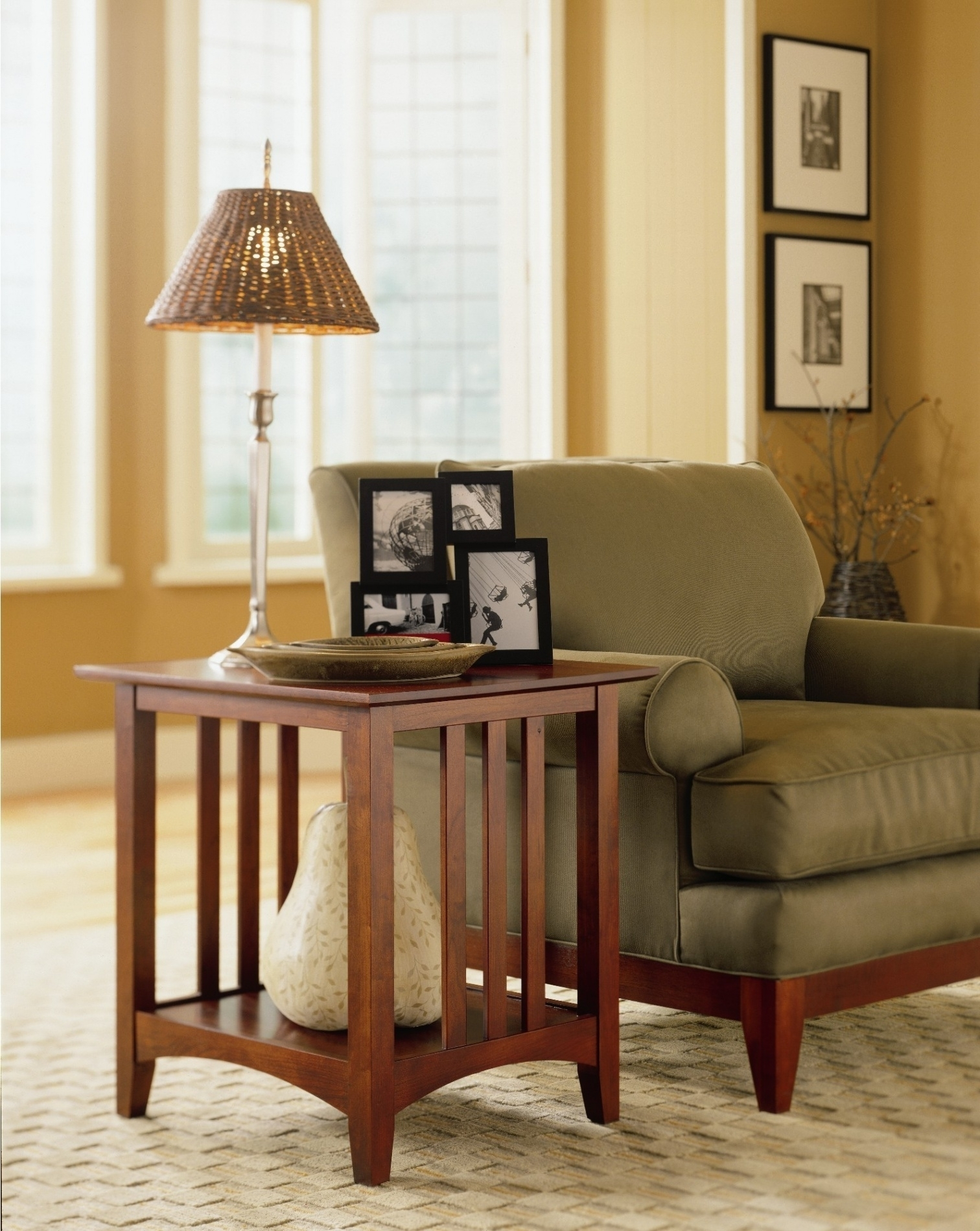 Preferred End Table Lamps For Living Room Home Combo Within