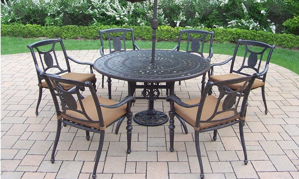 Preferred Iron Patio Conversation Sets Within How To Clean Wrought Iron Patio Furniture – Overstock (View 15 of 20)