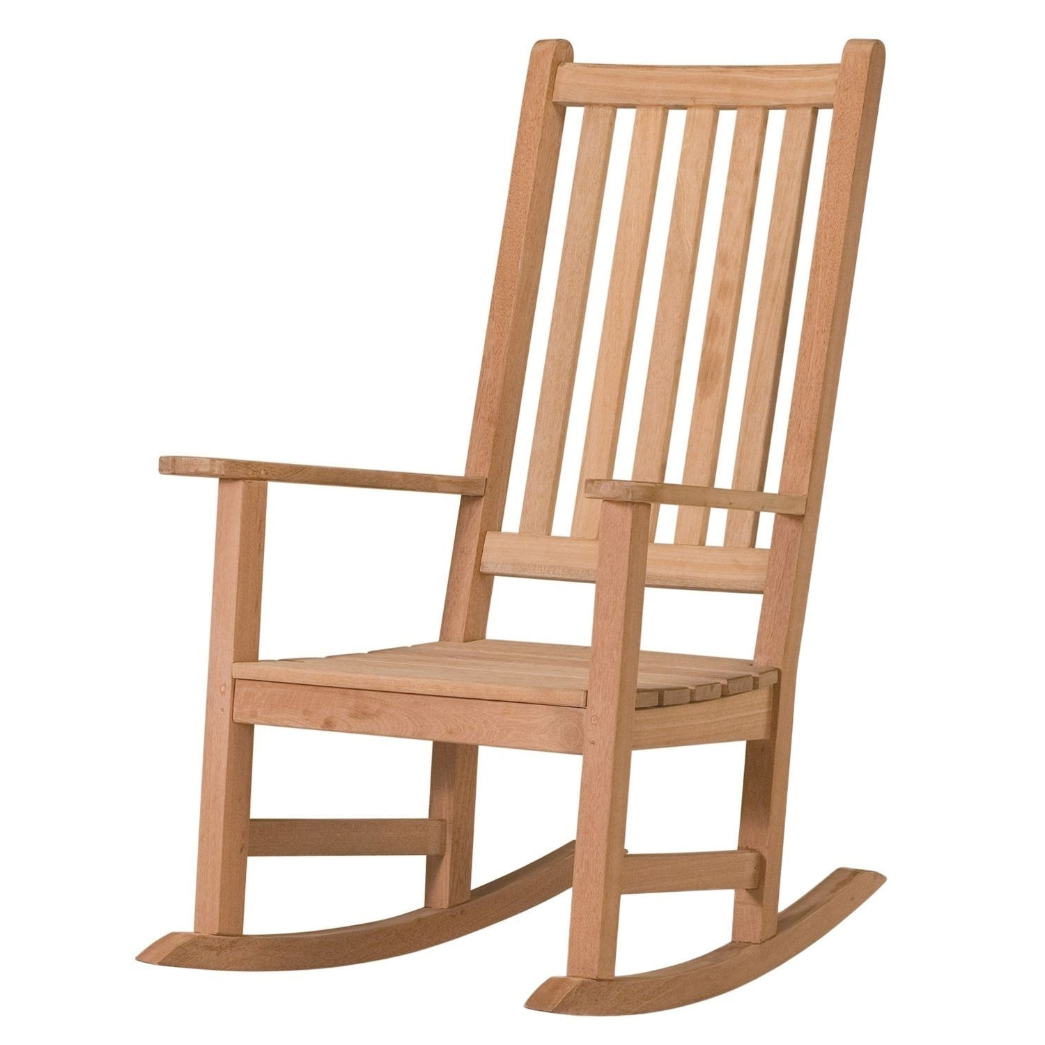 Preferred Oxford Garden Franklin Rocking Chair (Natural), Brown, Size Single With Rocking Chairs For Garden (View 10 of 20)