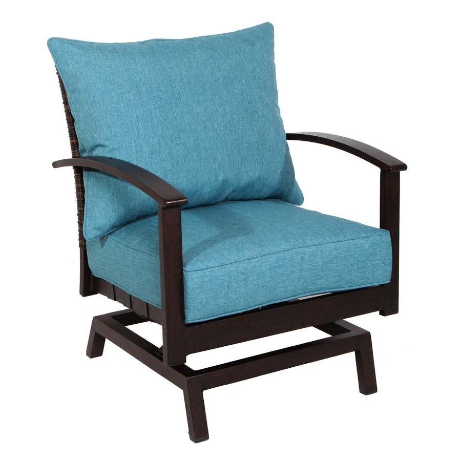 Preferred Patio Rocking Chairs With Shop Patio Chairs At Lowes (View 16 of 20)