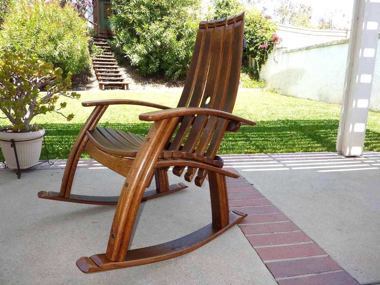 Preferred Rocking Chair Outdoor Wooden Intended For Outdoor Wooden Rocking Chairs Design – Home Interior And Furniture (View 16 of 20)