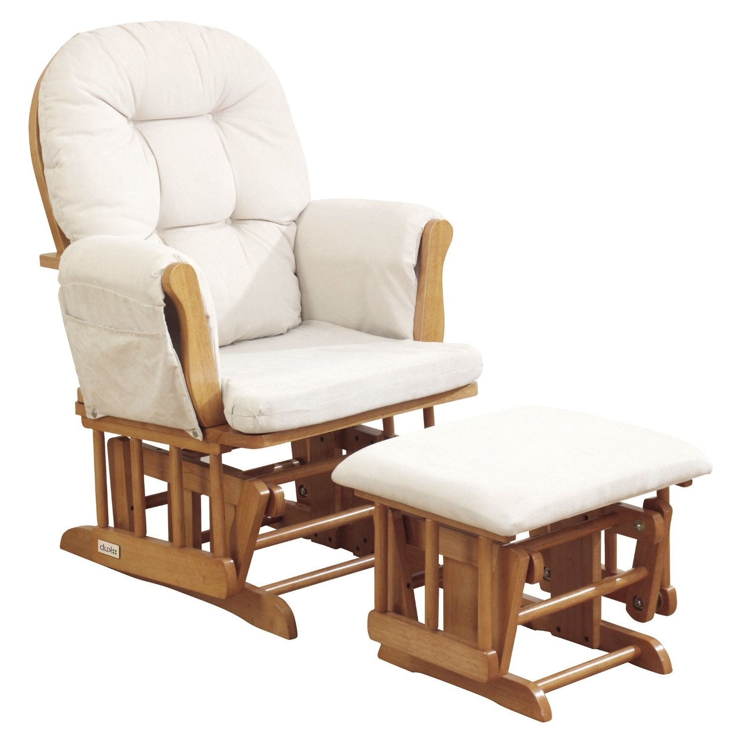 Preferred Rocking Chairs With Ottoman In Furniture: Glider Rocking Chair On Sale (View 17 of 20)