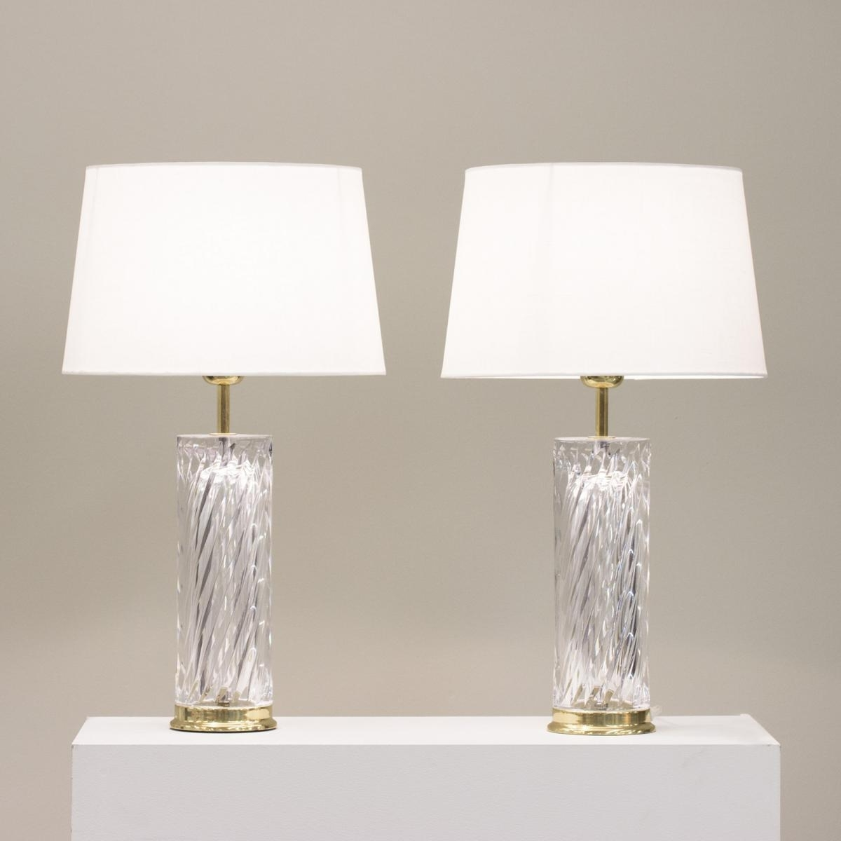 Preferred Set Of 2 Living Room Table Lamps Regarding Top 58 Superb Tall Crystal Table Lamps Floor Lamp On Sale For Living (View 8 of 20)