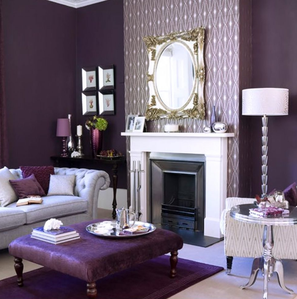 Purple Living Room Table Lamps With Famous Livingroom : Astounding Best Of Purple Living Room Chairs Photos (View 10 of 20)