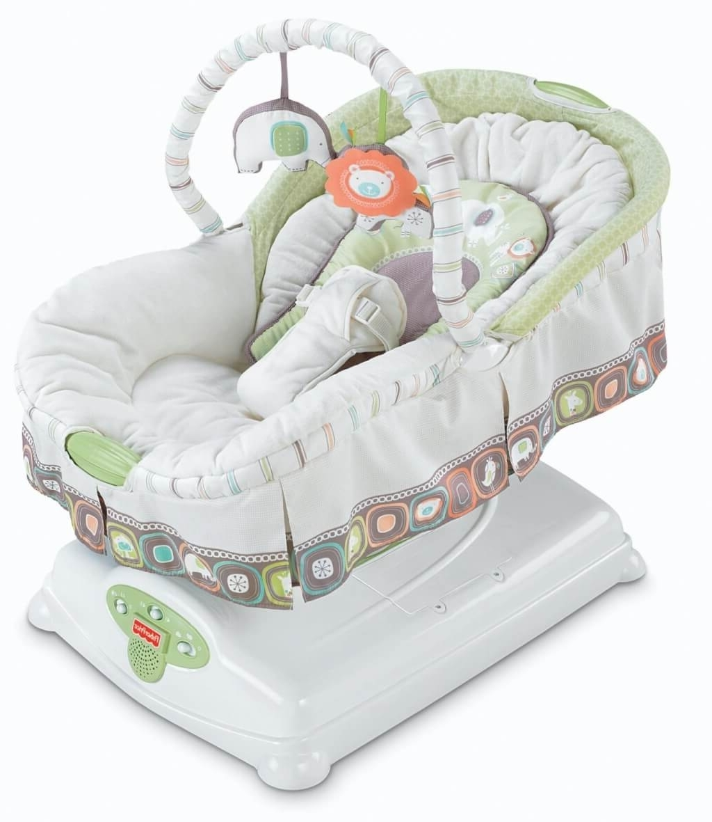 Recent Furniture: Luxury Baby Rocking Chair With Bouncer And White Baby With Regard To Rocking Chairs For Babies (View 6 of 20)