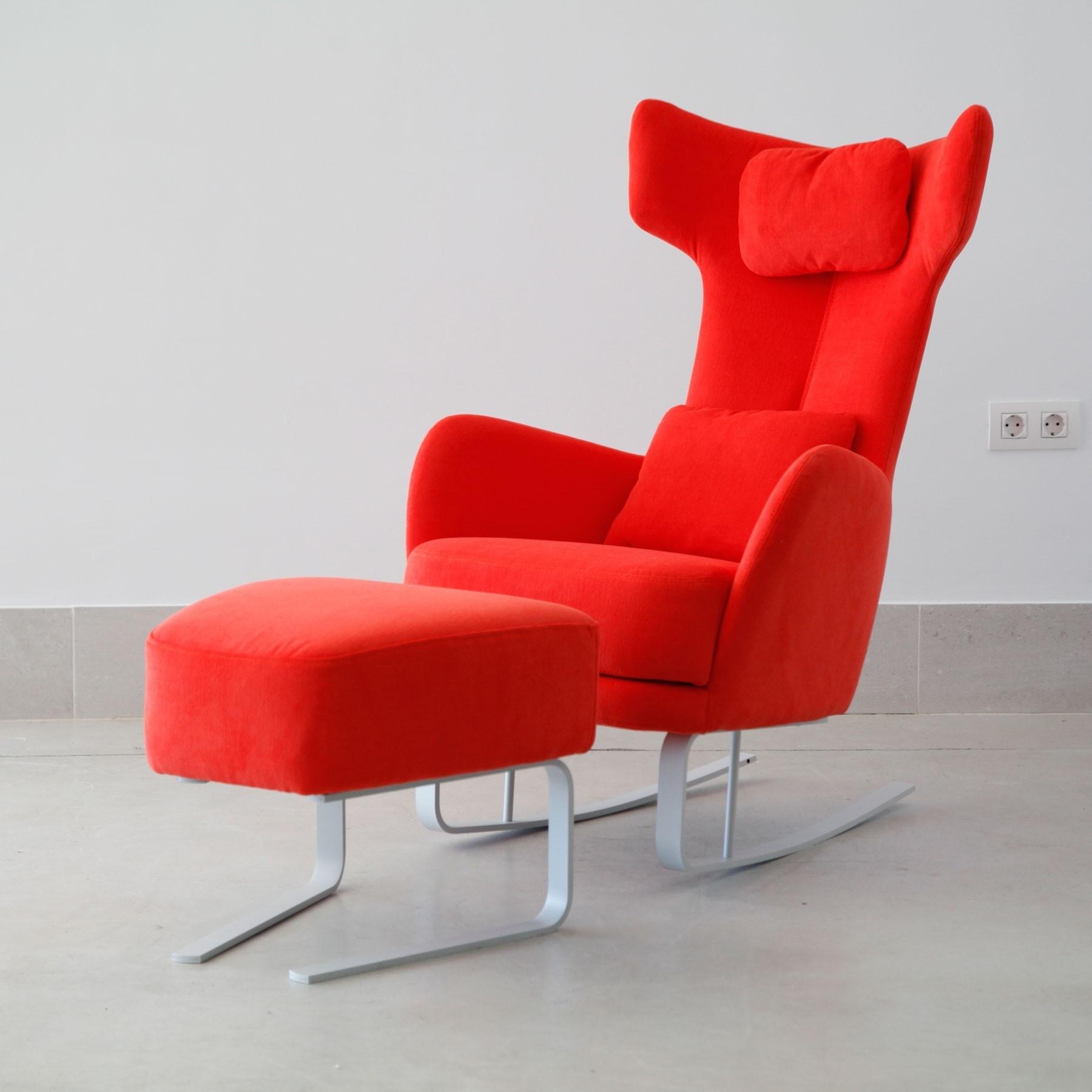 Recent Kangou Rocking Chair & Footstool (View 12 of 20)