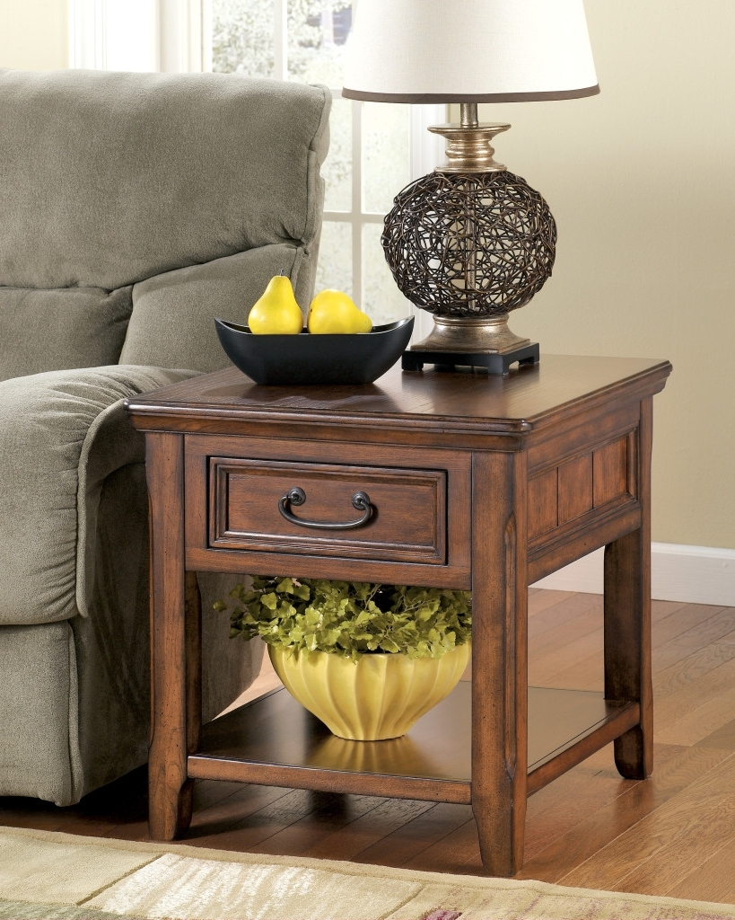 Recent Living Room End Table Lamps Regarding Living Room End Tables Storage : Living Room End Tables That Best (Gallery 17 of 20)