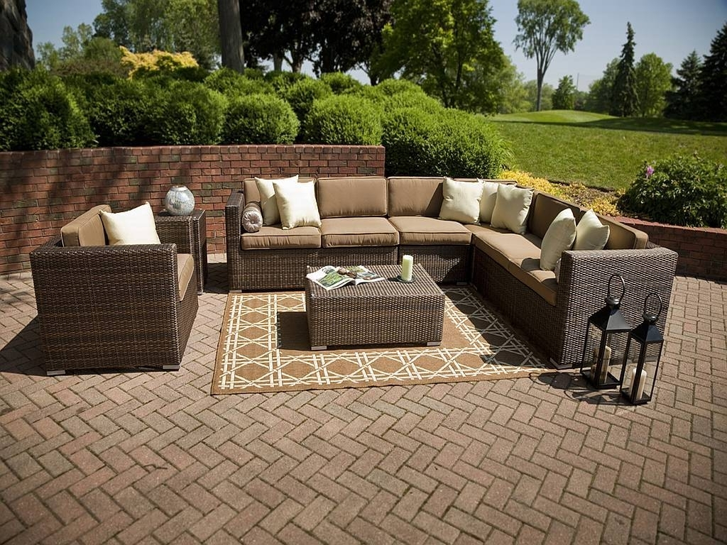 Recent Nfm Patio Conversation Sets Intended For Top Outdoor Wicker Patio Furniture Sets : Sathoud Decors – Wicker (Gallery 15 of 20)