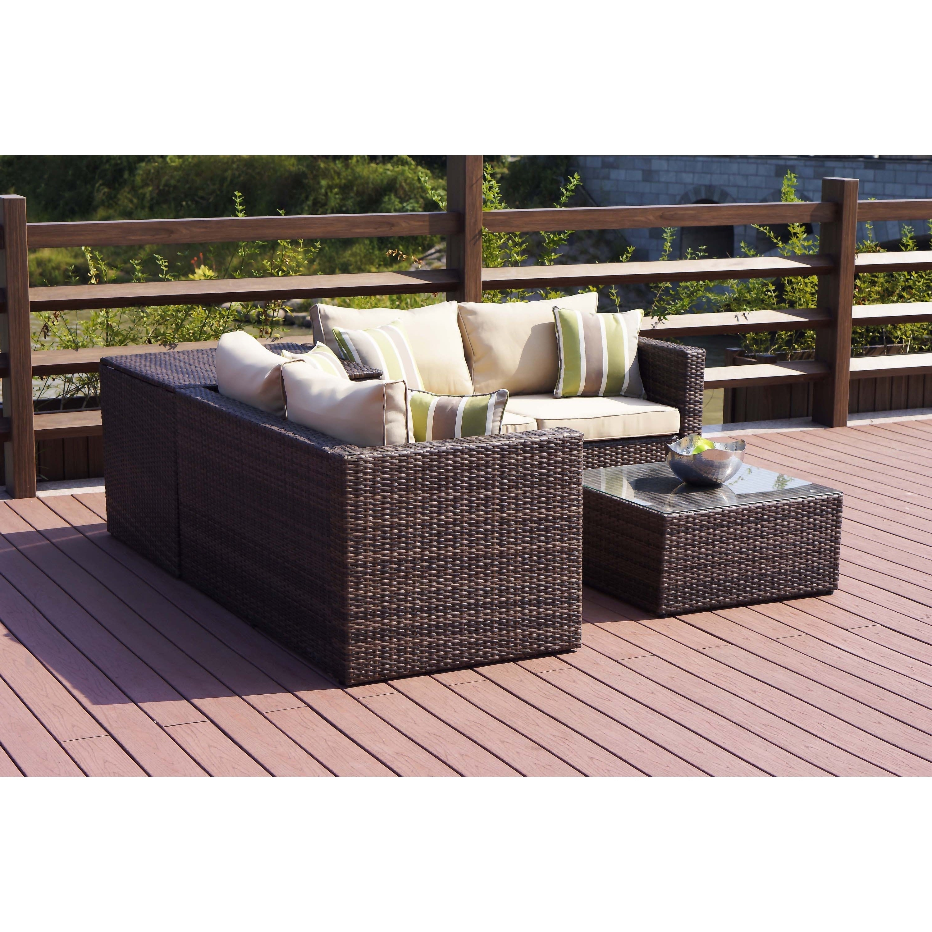 Recent Patio Conversation Set With Storage With Regard To Shop Zoe Outdoor 4 Piece Conversation Set With Storage Box – On Sale (View 14 of 20)