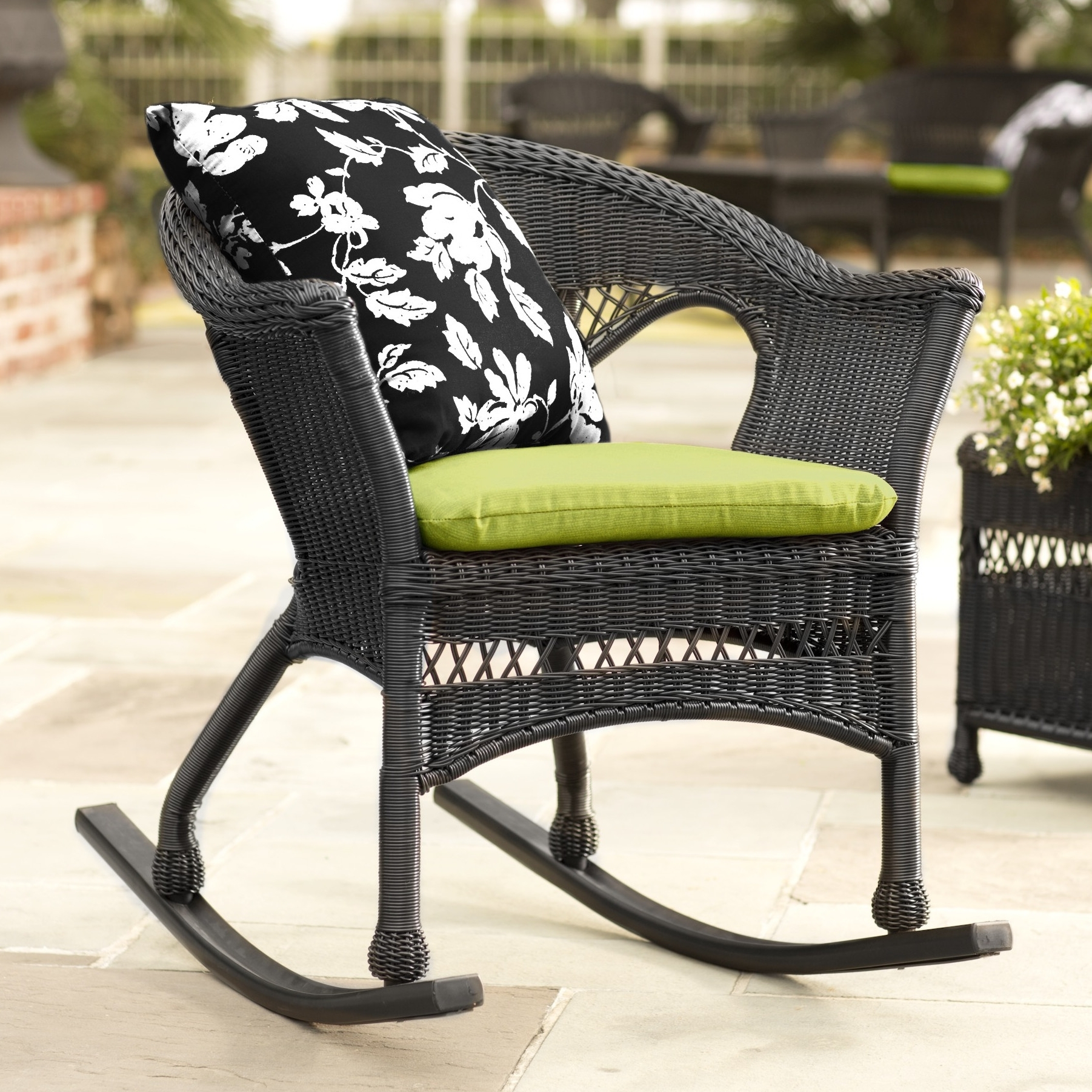 Recent Patio Rocking Chairs And Gliders Throughout Rocker Chair (View 15 of 20)