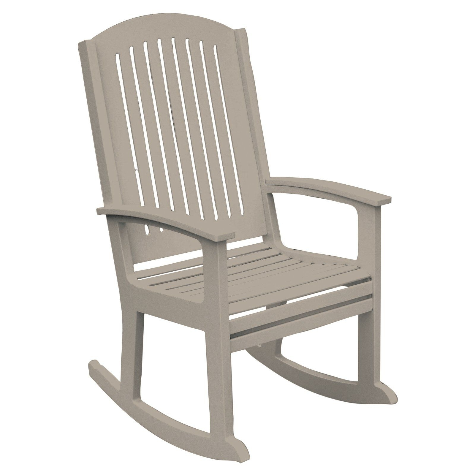 Recent Poly Concepts Outdoor Andureflex High Back Rocker (View 18 of 20)