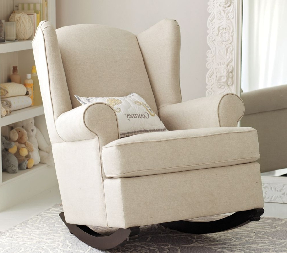 Recent Rocking Chair For Nursery Pregnancy F20x On Most Luxury Small Space Throughout Rocking Chairs For Small Spaces (View 4 of 20)
