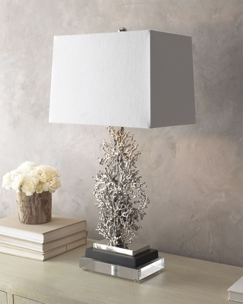 Recent Silver Table Lamps For Living Room Inside Excellent Ideas Silver Table Lamps Living Room Table Lamp (View 8 of 20)