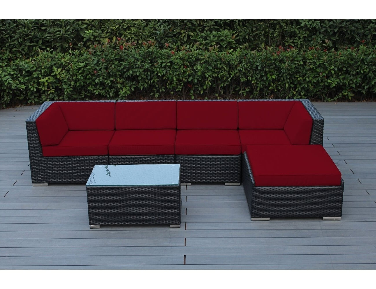 Red Patio Conversation Sets For Favorite Patio Dining Sets Furniture The Home Depot (View 11 of 20)