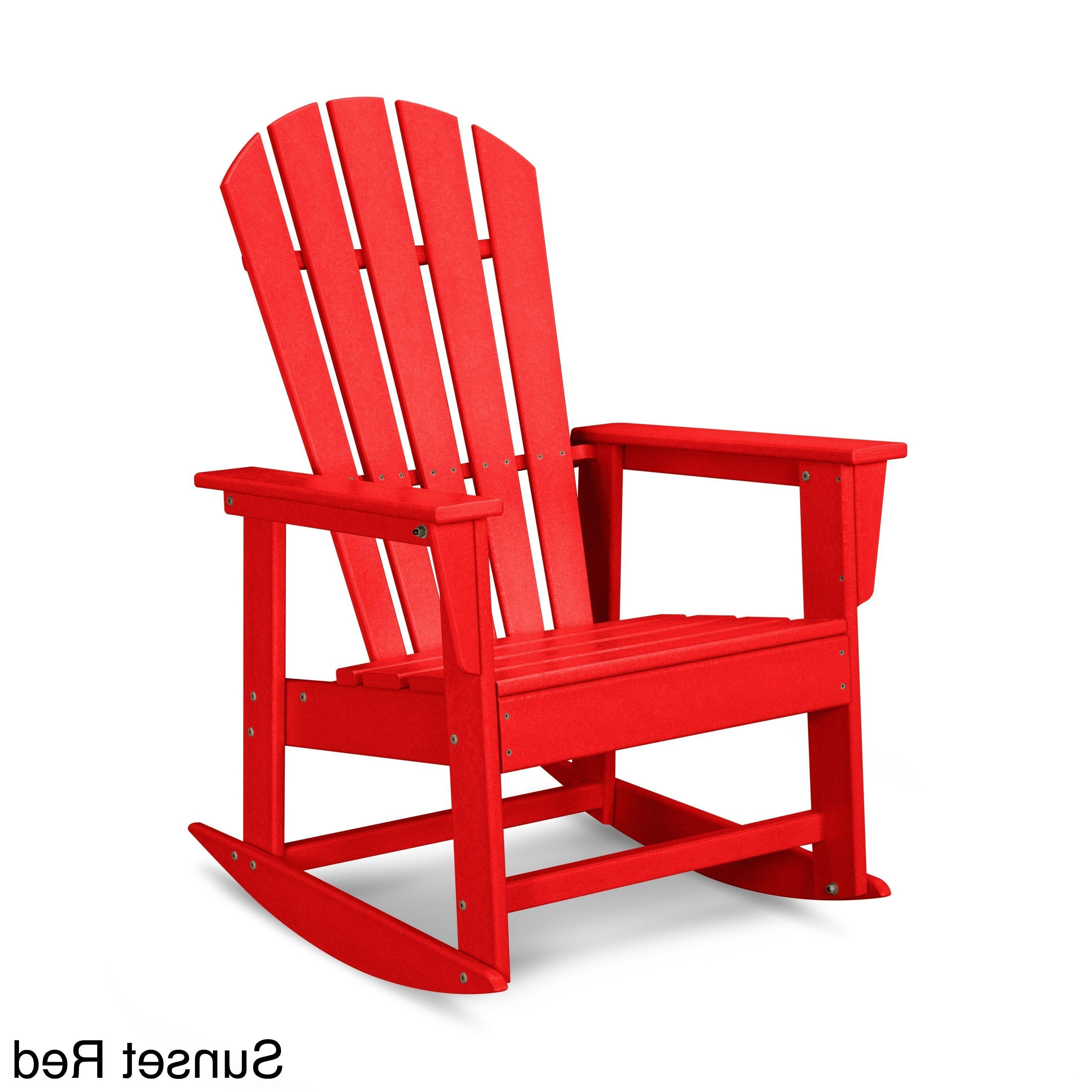 Red Patio Rocking Chairs Regarding Most Recent Red Outdoor Rocking Chair – Attractive Red Patio Furniture Stunning (View 12 of 20)