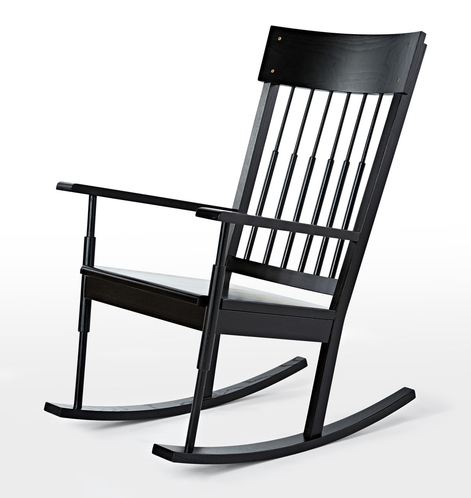 Rejuvenation In Most Recently Released Black Rocking Chairs (View 4 of 20)