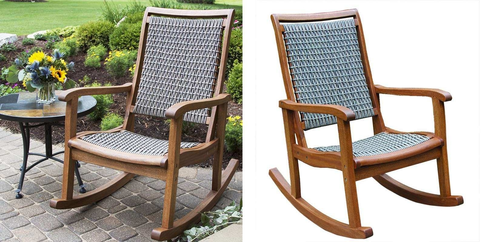Resin Patio Rocking Chairs For Recent Resin Outdoor Furniture Awesome Resin Patio Rocking Chairs Modern (View 6 of 20)