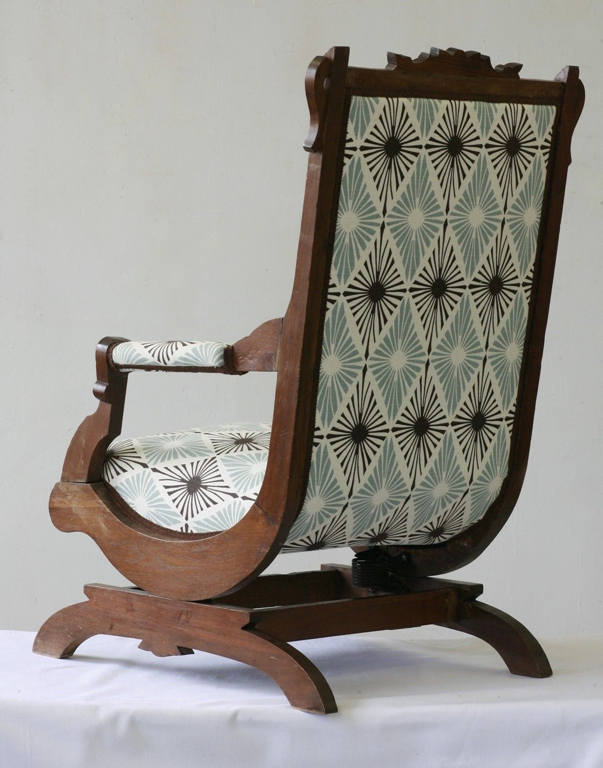 Rockers, Etsy And Fabrics Regarding Victorian Rocking Chairs (View 7 of 20)