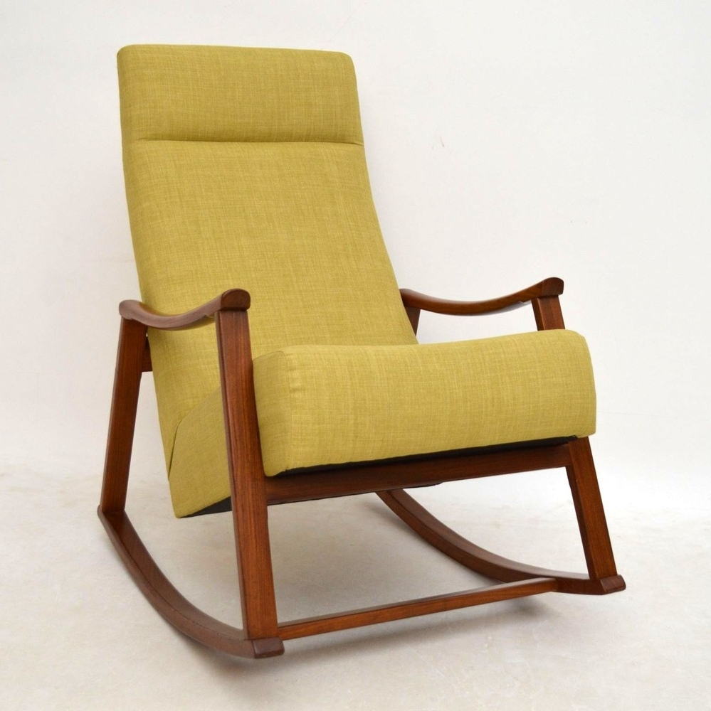 Rocking Armchair Leigh Country Amberlog Patio Chair Armchairs Uk Nz With Famous Retro Rocking Chairs (View 7 of 20)