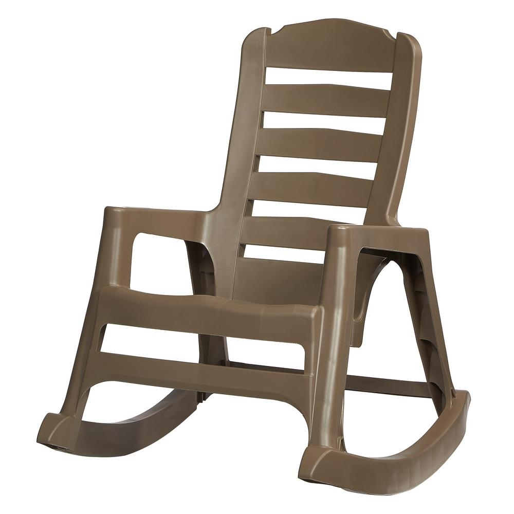 Rocking Chairs At Home Depot Throughout Most Recent Rocking Chairs – Patio Chairs – The Home Depot (View 5 of 20)