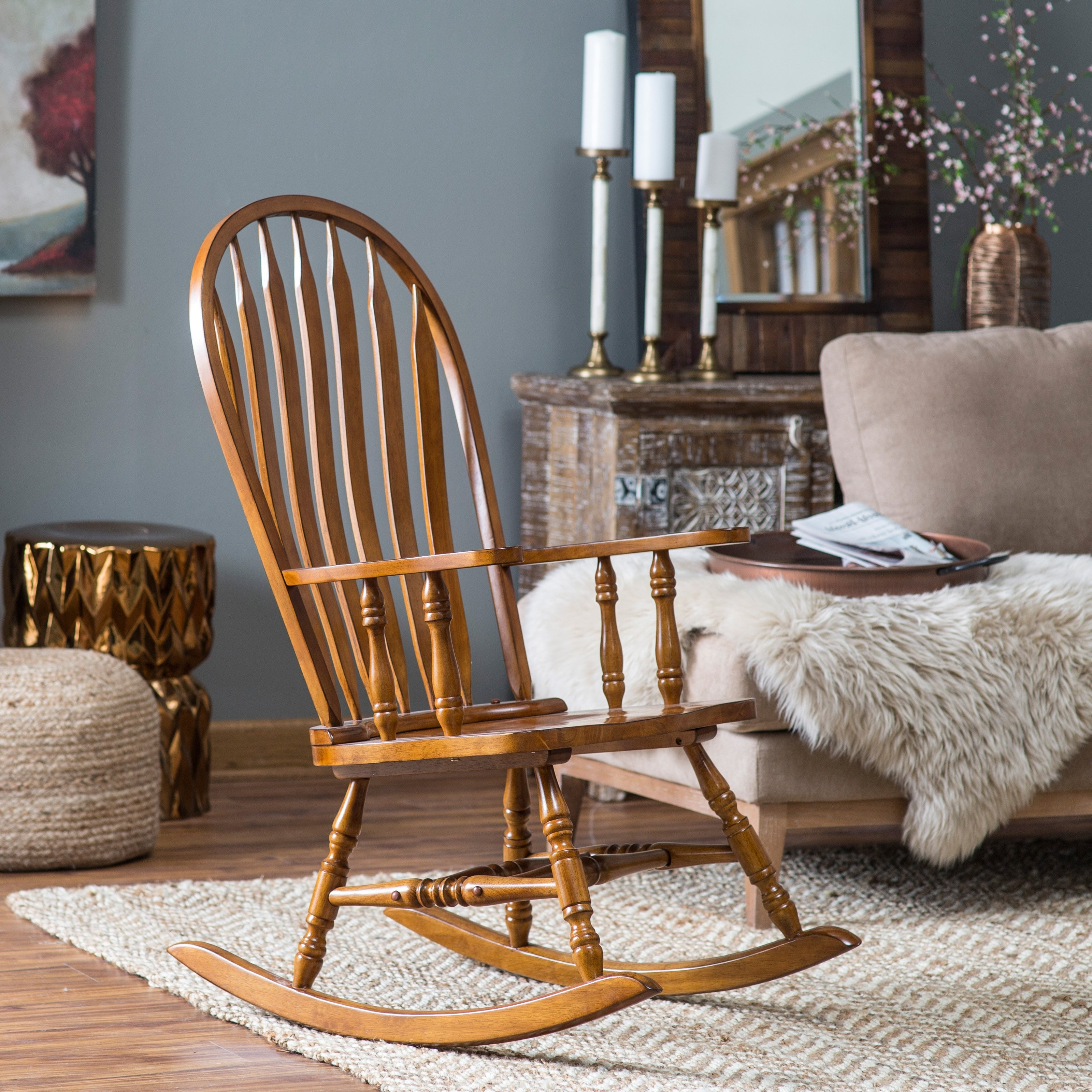Rocking Chairs For Adults In 2018 The Meaning And Symbolism Of The Word – «rocking Chair» (View 16 of 20)