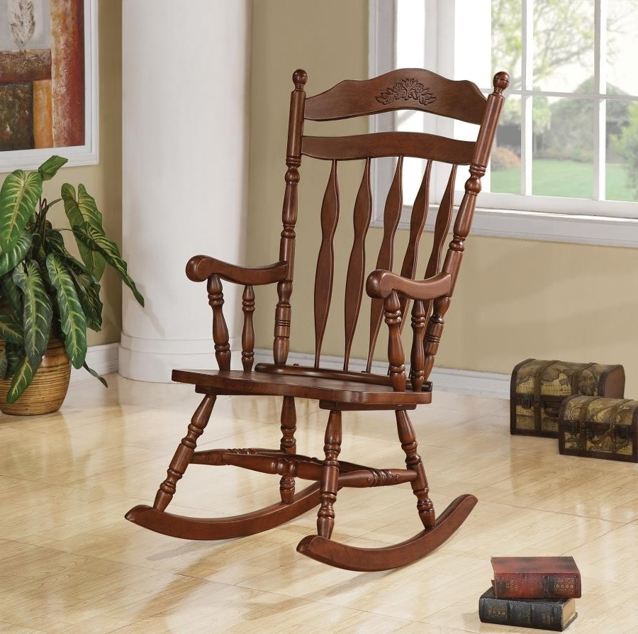Rocking Chairs For Adults Within Preferred Living Room: Rocking Chairs – Rocking Chair (View 15 of 20)