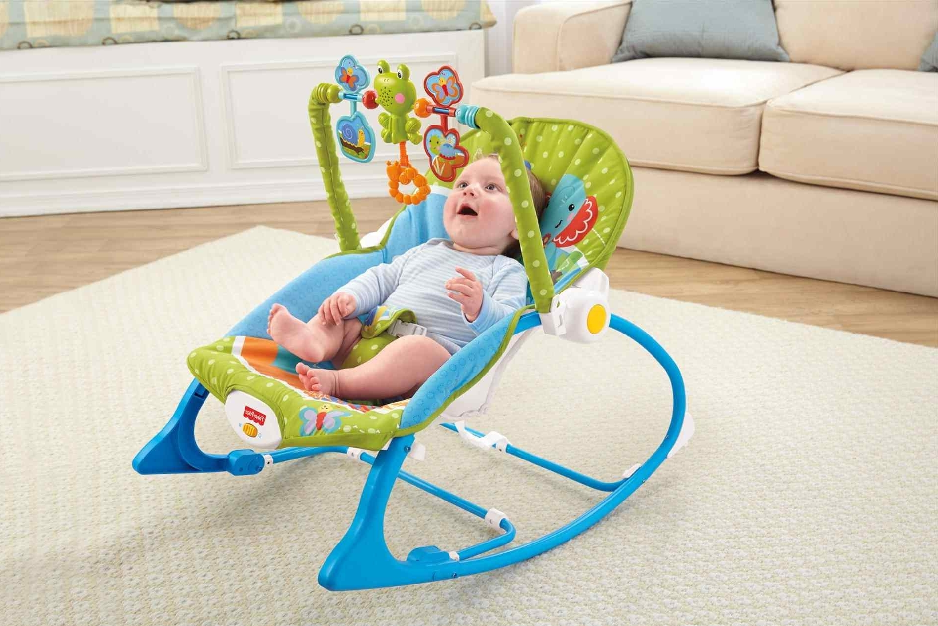 Rocking Chairs For Babies Pertaining To Preferred Rocking Chair Chairs For Babies Fisher Infant Toddler Rocker Bug (View 19 of 20)