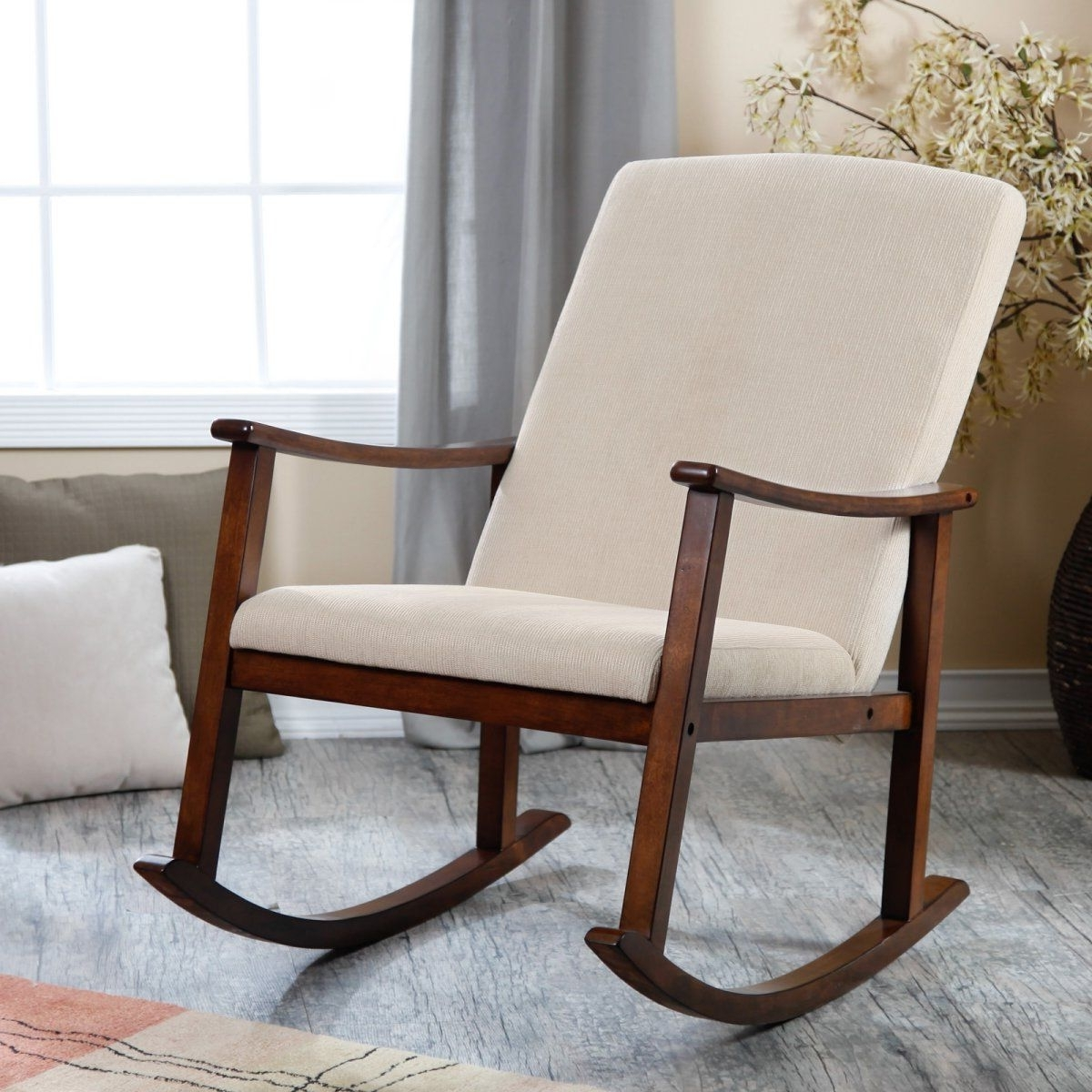 Rocking Chairs For Nursery Regarding Preferred Holden Modern Rocking Chair – Rocking Chairs At Hayneedle (View 7 of 20)